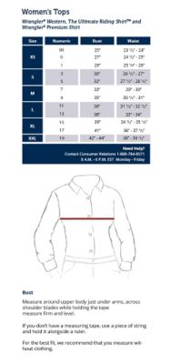 American eagle mens tops size chart